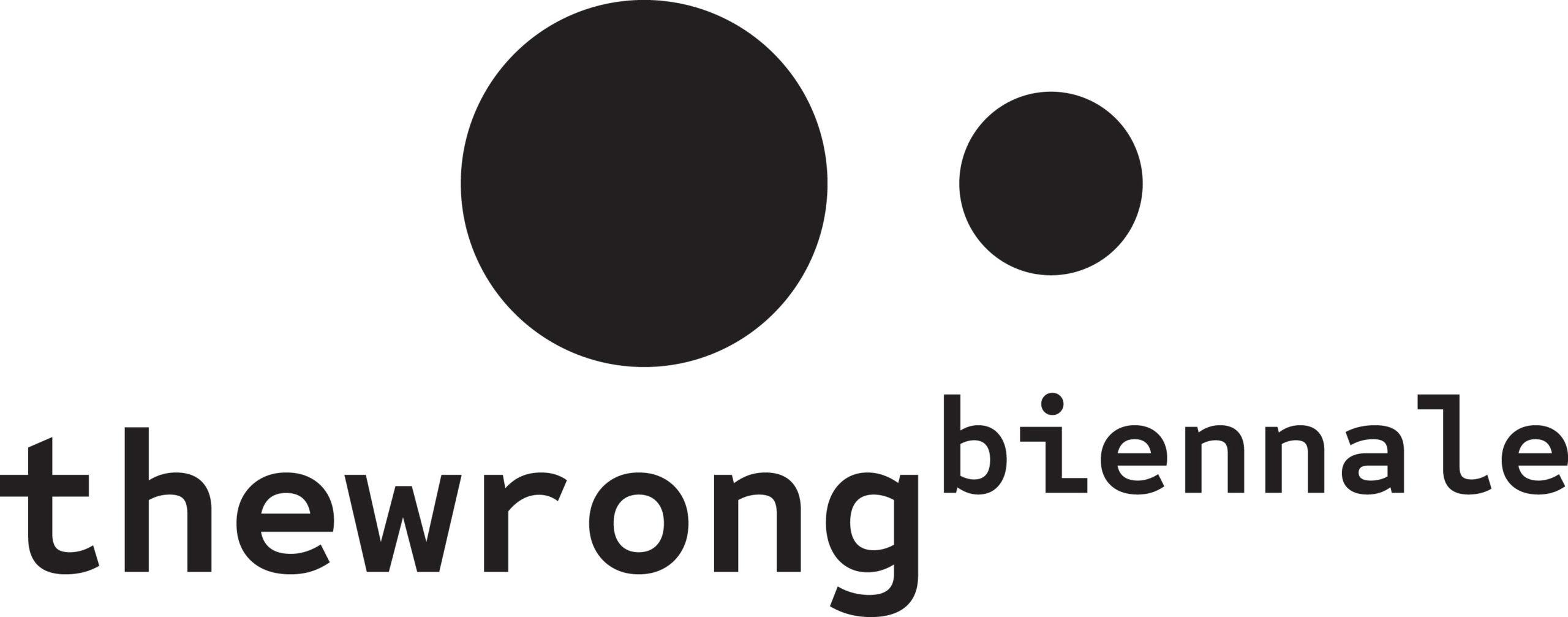 the wrong biennale logo